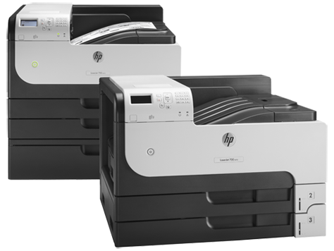 Серия принтеров HP LaserJet Enterprise 700 M712