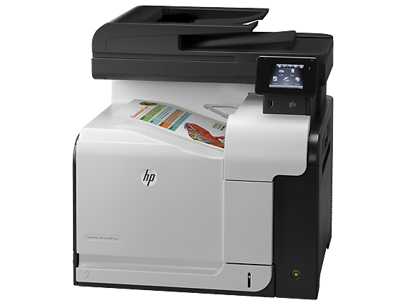 HP LaserJet Pro 500 color MFP M570dn - Left