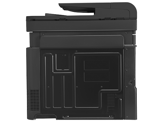 HP LaserJet Pro 500 color MFP M570dn - Rear