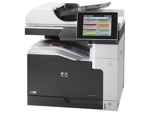 HP LaserJet Enterprise 700 color MFP M775dn - Left