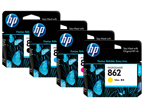 HP 862 inktcartridges