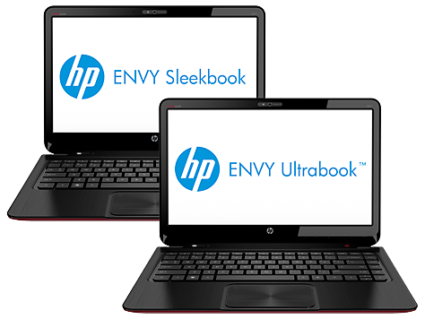 Notebook serie HP ENVY 4-1000