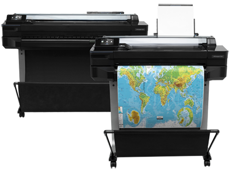 HP DesignJet T520 Printer series