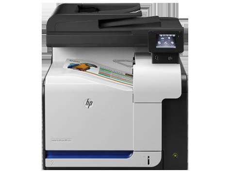 Imprimante multifonction couleur HP LaserJet Pro500M570