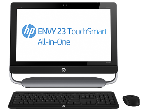 PC de mesa HP ENVY multifuncional série 23-d000 TouchSmart