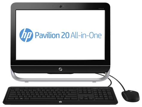 PC desktop All-in-One HP Pavilion 20-b400