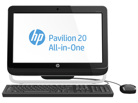 HP Pavilion 20-A100 All-in-One Desktop-PC-Serie