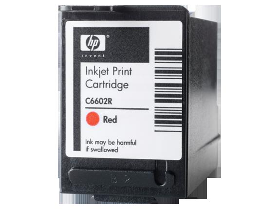 HP Red Generic Inkjet Print Cartridge - Left