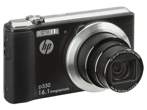 HP p550 digitale camera