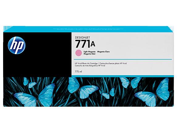 HP 771A B6Y19A DESIGNJET Z6200 LIGHT MAGENTA INK CARTRIDGE 6//2020