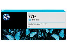 HP 771A 775-ml Light Cyan DesignJet Ink Cartridge