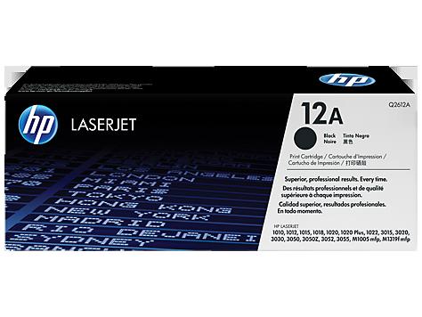 Cartuchos de toner HP LaserJet 12