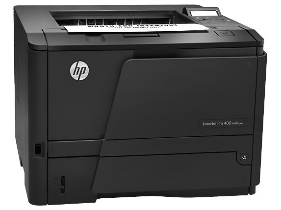 HP LaserJet Pro 400 Printer M401dne - Right