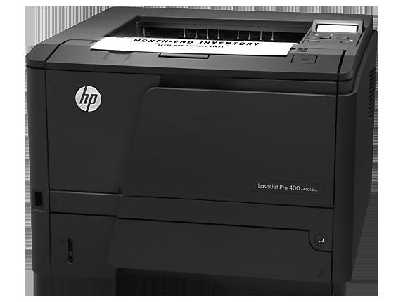HP LaserJet Pro 400 Printer M401dne - Left