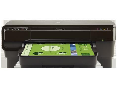 ePrinter para formatos largos HP OfficeJet série 7110 - H812