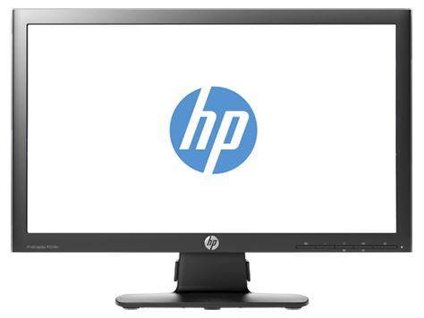 HP ProDisplay P201m 20-inch LED Backlit Monitor