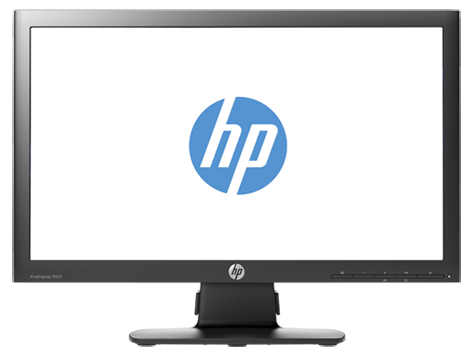 HP ProDisplay P201 20-inch LED Backlit Monitor
