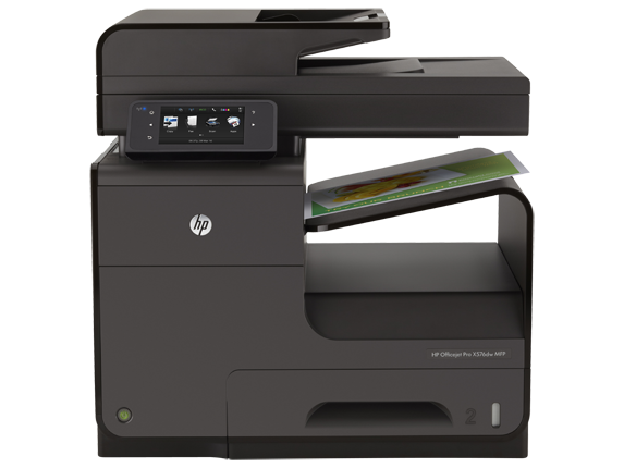 HP Officejet Pro X576dw Multifunction Printer - Center
