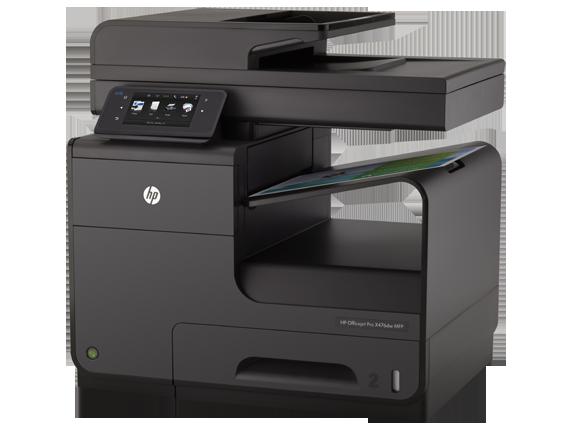HP Officejet Pro X476dw Multifunction Printer - Left