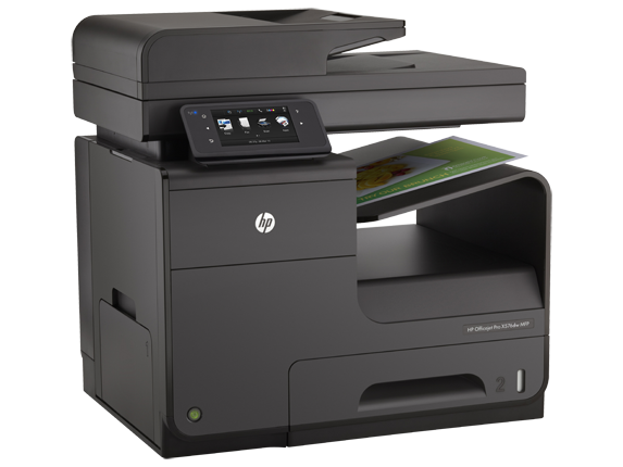 HP Officejet Pro X576dw Multifunction Printer - Right