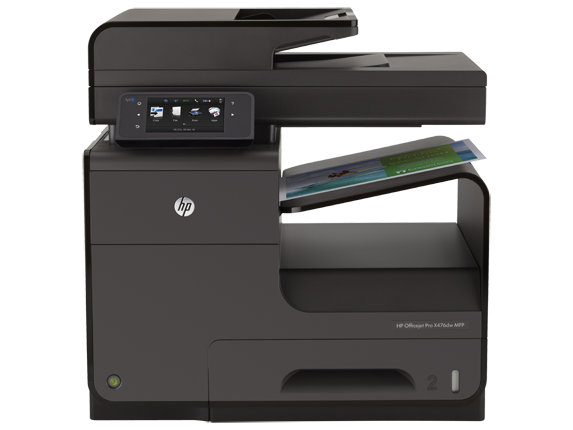 HP Officejet Pro X476dw Multifunction Printer - Center