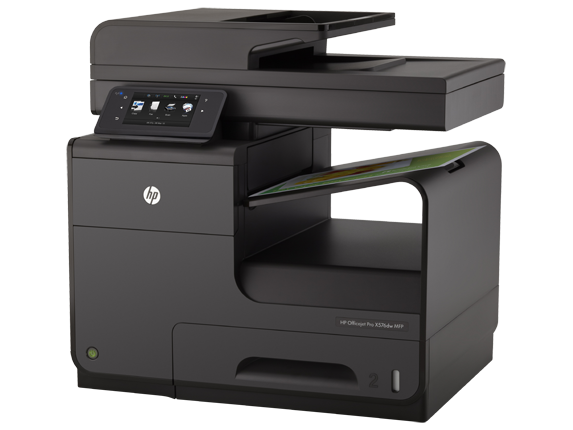 HP Officejet Pro X576dw Multifunction Printer - Left