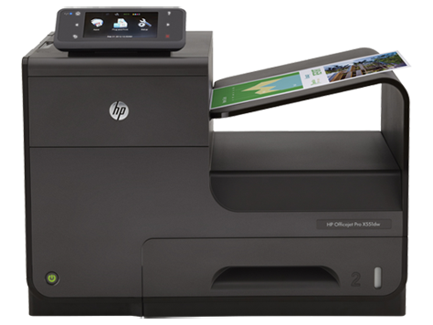 HP Officejet Pro-Printer X551 serie