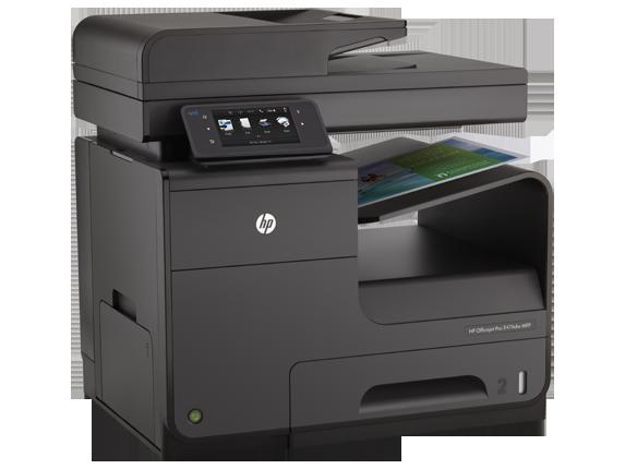 HP Officejet Pro X476dw Multifunction Printer - Right