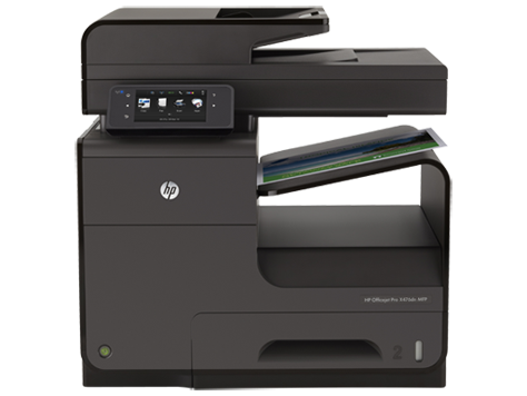 HP Officejet Pro X476 Multifunktionsdruckerserie