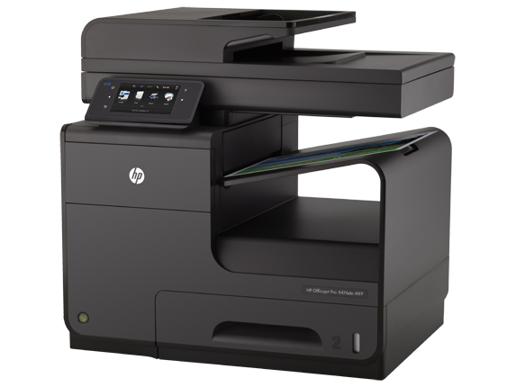 HP Officejet Pro X476dn Multifunction Printer - Left