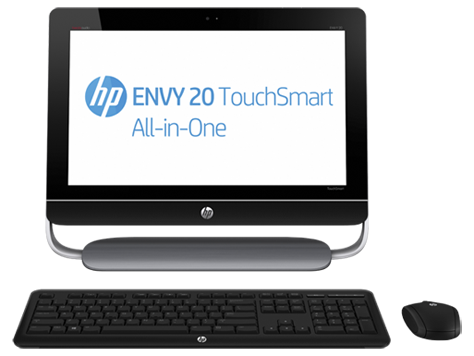 PC de mesa HP ENVY multifuncional série 20-d100 TouchSmart