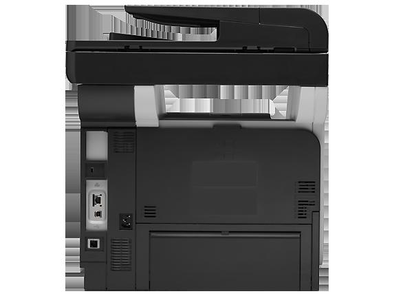 HP LaserJet Pro MFP M521dn - Rear