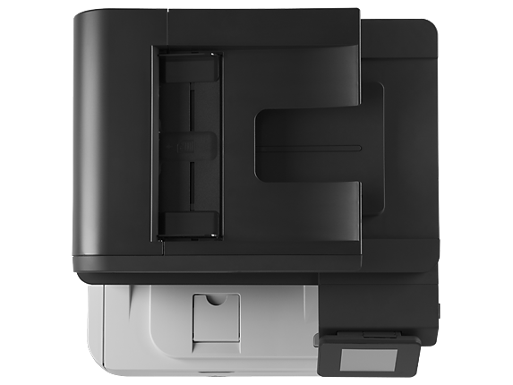 HP LaserJet Pro MFP M521dn - Top view closed
