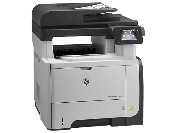 HP LaserJet Pro MFP M521dn - Right