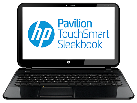 Notebook HP Pavilion TouchSmart 15-b100 Sleekbook