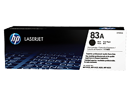 HP 83A Black Original LaserJet Toner Cartridge, CF283A