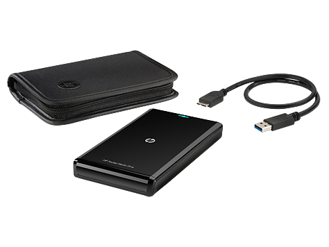 HP 750 GB USB 3.0 Pocket Media Drive