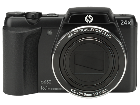 HP p650 digitale camera