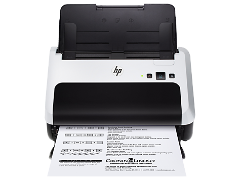 Scanner avec bac d'alimentation HP Scanjet Pro3000 s2
