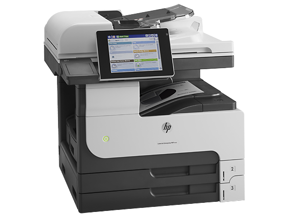 HP LaserJet Enterprise MFP M725dn - Right