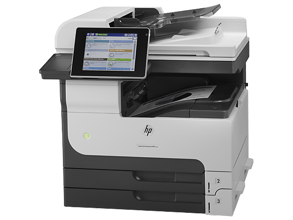 HP LaserJet Enterprise MFP M725dn - Left