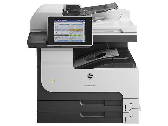 HP LaserJet Enterprise MFP M725dn - Center