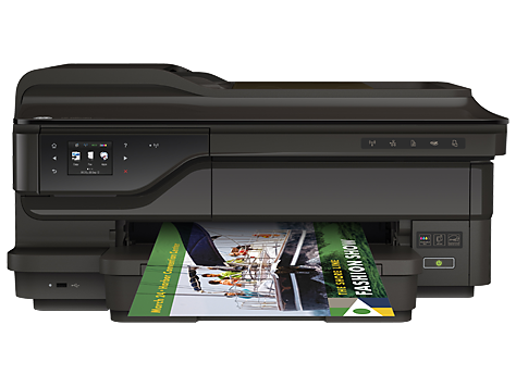 Impressora e-All-in-One para formatos largos HP OfficeJet série 7610