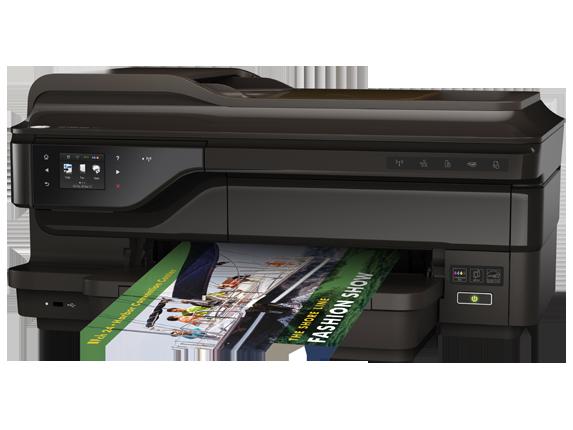 HP OfficeJet 7612 Wide Format e-All-in-One - Left