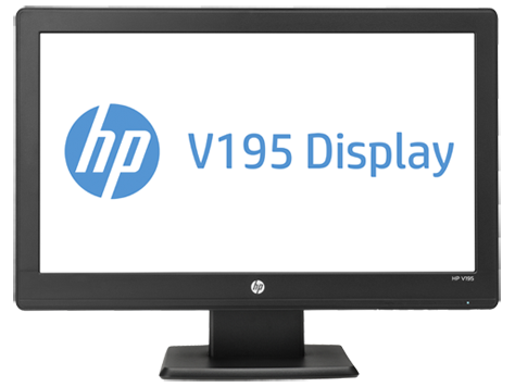 HP V195 19,45-Zoll-LCD-Monitor mit LED-Hintergrundbeleuchtung
