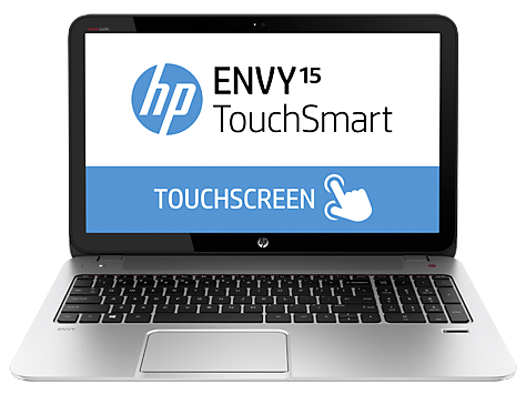 Gamme d'ordinateurs portables HP ENVY TouchSmart 15-j100, Quad Edition