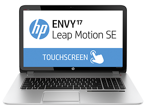 Notebook HP ENVY TouchSmart 17-j100 con Leap Motion (edizione studenti)