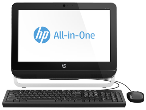 PC Desktop HP 1155 All-in-One