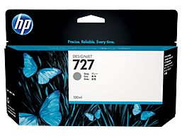 HP 727 130-ml Gray DesignJet Ink Cartridge