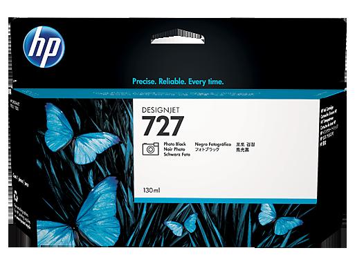 HP 727 130-ml Photo Black DesignJet Ink Cartridge